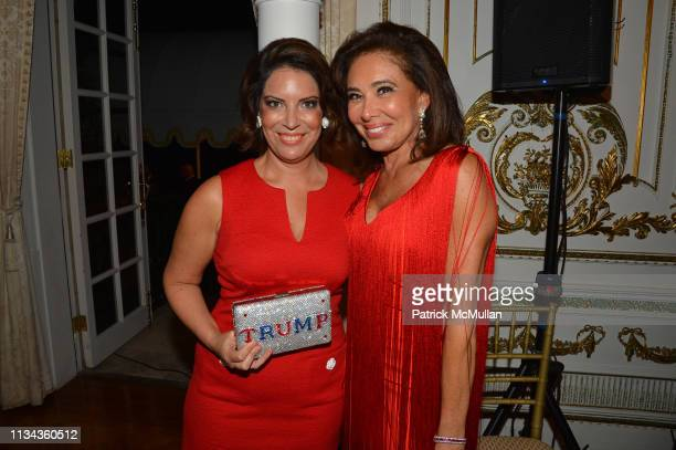 Nicole DiCocco and Jeanine Pirro attend Country Comes To MaraLago at MaraLago on February 23 2019 in Palm Beach FL