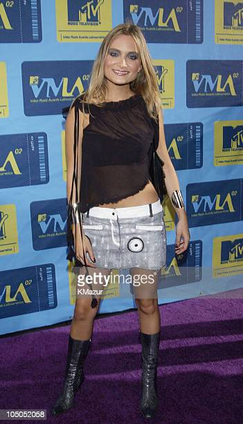 Nicole during MTV Video Music Awards Latinoamerica 2002 Arrivals at Jackie Gleason Theater in Miami Florida United States