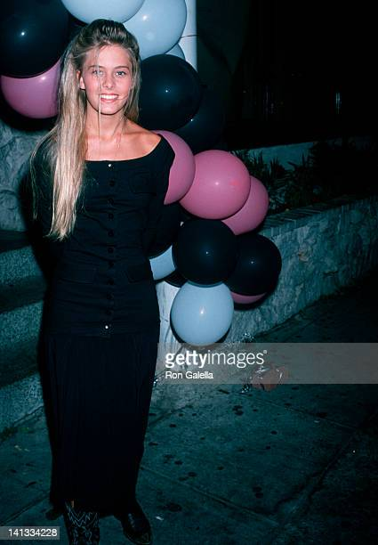 Nicole Eggert at the Birthday Party for Richard Pryor Rubber Club Los Angeles
