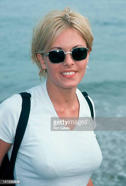 Nicole Eggert at the Premiere Party for 'Clueless' Leo Carillo Beach Malibu
