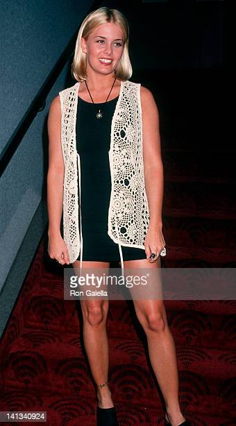 Nicole Eggert at the Screening of 'Shattered' Academy Theater Hollywood