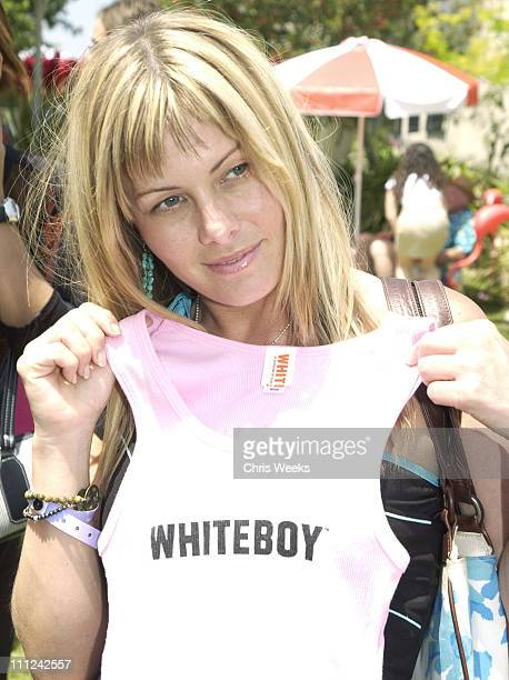 Nicole Eggert at White Boy during Cabana PreMTV Movie Awards Beauty Buffet Day One at Private Residence in Hollywood California United States