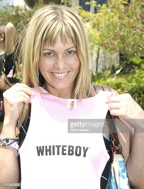 Nicole Eggert at White Boy during Cabana Pre-MTV Movie Awards Beauty Buffet - Day One at Private Residence in Hollywood, California, United States.