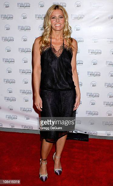 Nicole Eggert during 2005 DVD Exclusive Awards - Arrivals at California Science Center in Los Angeles, California, United States.
