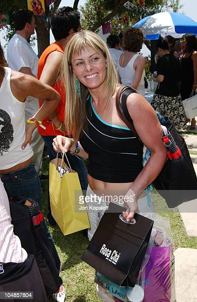 Nicole Eggert during Cabana PreMTV Movie Awards Beauty Buffet at Private Residence in Hollywood California United States