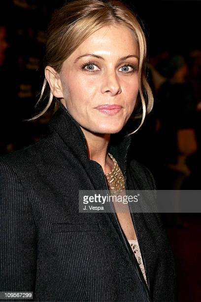 Nicole Eggert during Cadillac Presents Rock Republic Fall 05 Fashion Show Arrivals at Sony Studios in Culver City California United States