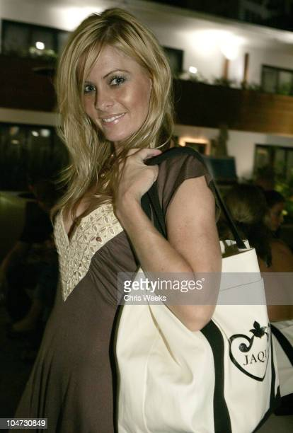 Nicole Eggert during Jaqua Party at The Roosevelt Hotel at The Roosevelt Hotel in Hollywood California United States