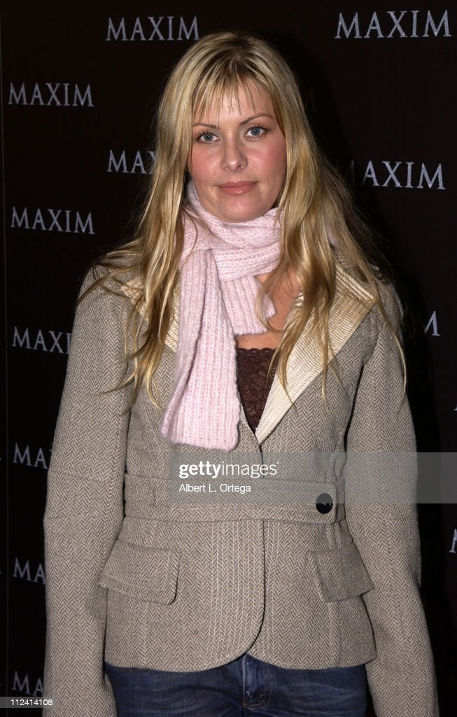 Nicole Eggert during Live Performance by The Pussycat Dolls Hosted by Maxim Magazine - Arrivals at The Henry Fonda Theater in Hollywood, California, United States.