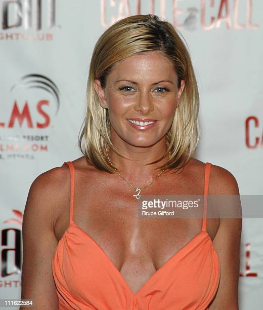 Nicole Eggert during Palms Casino Resort Brenden Theatres and N9NE Group Host Premiere of National Lampoon's Cattle Call at Palms Casino Resort in...