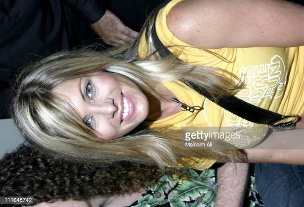 Nicole Eggert during Scene It Hollywood Challenge at Hollywood History Museum in Hollywood California United States