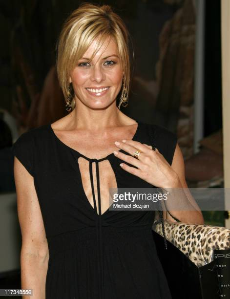 Nicole Eggert during Silver Spoon Golden Globes Hollywood Buffet - Day 1 at Private Residence in Beverly Hills, California, United States.