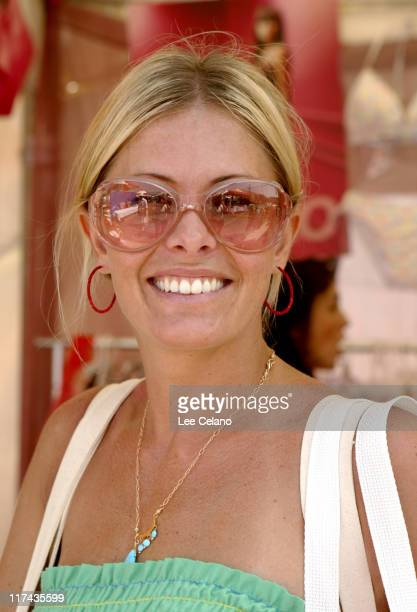 Nicole Eggert during Silver Spoon Hollywood Buffet - Day One at Private Estate in Hollywood, California, United States.