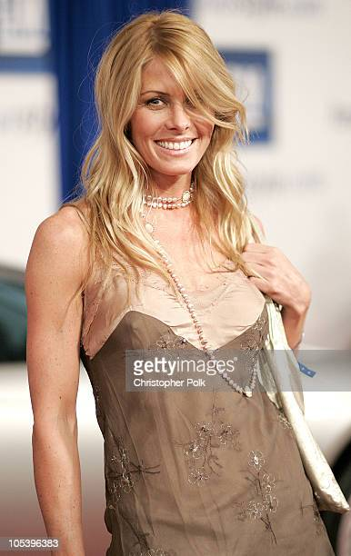 Nicole Eggert during The 4th Annual 'ten' Fashion Show Presented by General Motors Arrivals at 1540 Vine Street in Hollywood California United States