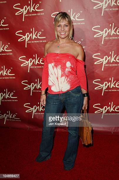 Nicole Eggert during The Official Launch Party For Spike TV At The Playboy Mansion - Arrivals at The Playboy Mansion in Bel Air, California, United...