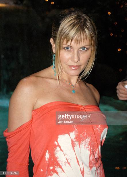 Nicole Eggert during The Official Launch Party For Spike TV At The Playboy Mansion Inside at The Playboy Mansion in Bel Air California United States
