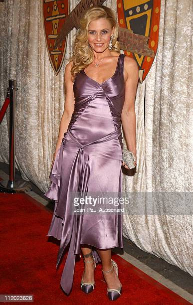 """Nicole Eggert during """"The Real Gilligan's Island"""" Launch Party at Pearl in West Hollywood, California, United States."""