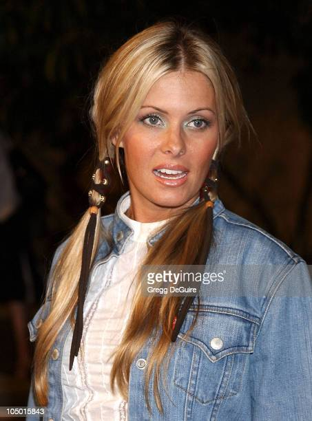 Nicole Eggert during The Rules of Attraction Premiere Arrivals at The Egyptian Theatre in Hollywood California United States