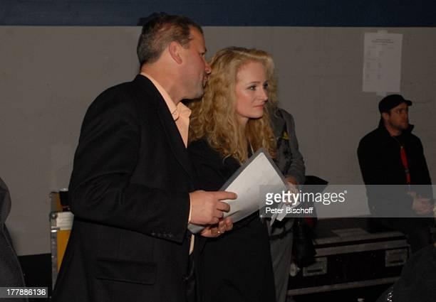 Nicole Ehemann Winfried Seibert Tournee Die große Schlager StarParade AWDDome Bremen Deutschland Europa backstage Konzert Sängerin DIGPNr 424/2009