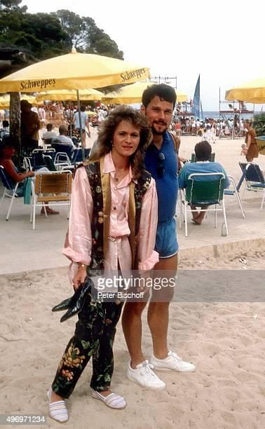Nicole Ehemann Winfried Seibert ZDFMusikShow Sommerhitparade am in Cala Ratjada auf Insel Mallorca Spanien