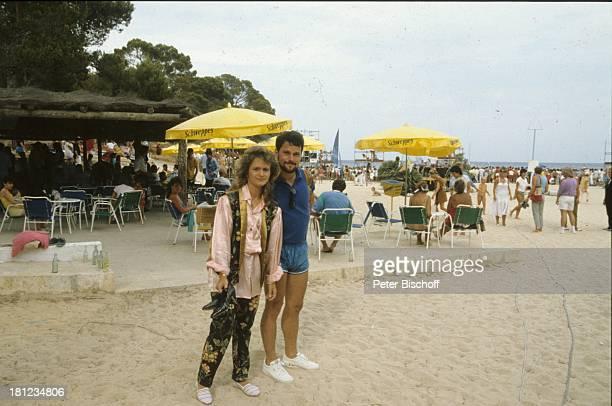 Nicole Ehemann Winfried Seibert ZDFShow Sommerhitparade Cala Ratjada/Mallorca/Spanien Strand Meer Schlager Promis Prominenter Prominente