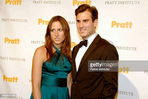 Nicole Emmons and Blaise Kavanagh attend LEGENDS 2009 A Pratt Institute Scholarship Benefit at 7 World Trade on October 29 2009 in New York City