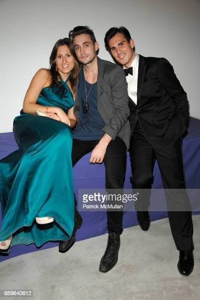 Nicole Emmons Jeffrey Dodd and Blaise Kavanagh attend LEGENDS 2009 A Pratt Institute Scholarship Benefit at 7 World Trade on October 29 2009 in New...