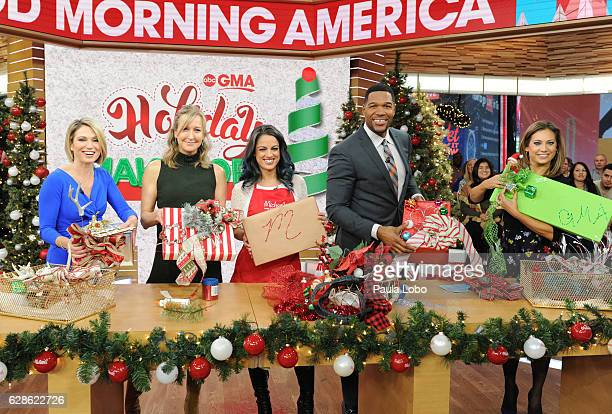 AMERICA Nicole Farb of Michael's shares some creative ways to wrap gifts on 'Good Morning America' Thursday December 8 airing on the ABC Television...
