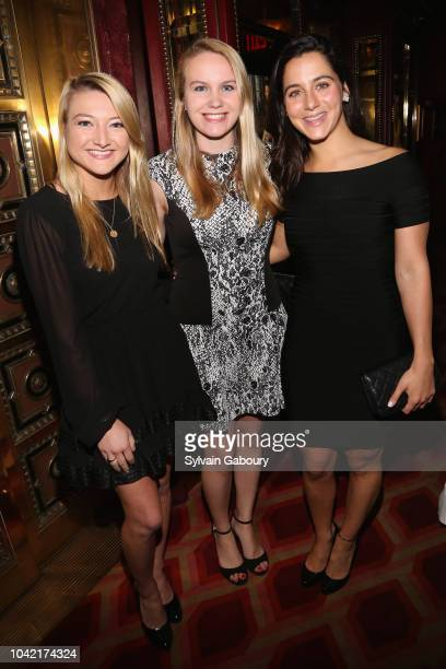 Nicole Fischer Courtney Fischer and Paget Stanco attend David Patrick Columbia And Chris Meigher Toast The QUEST 400 At DOUBLES on September 27 2018...