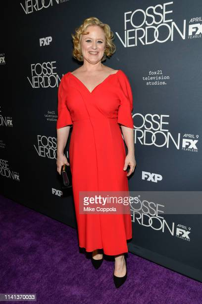 Nicole Fosse attends FX's Fosse/Verdon New York Premiere on April 08 2019 in New York City