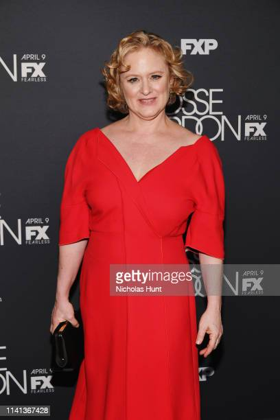Nicole Fosse attends the New York Premiere for FX's Fosse/Verdon on April 08 2019 in New York City