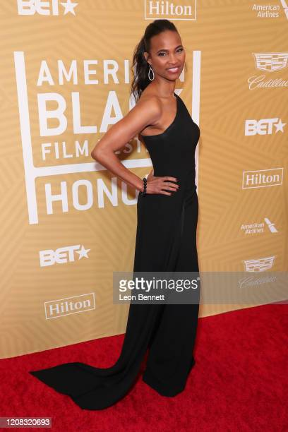 Nicole Friday attends American Black Film Festival Honors Awards Ceremony at The Beverly Hilton Hotel on February 23, 2020 in Beverly Hills,...