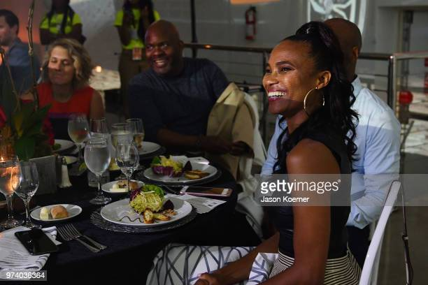 Nicole Friday attends the Cadillac Welcome Luncheon At ABFF Black Hollywood Now The Temple House on June 13 2018 in Miami Beach Florida
