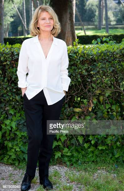 Nicole Garcia attends the photocall of 'Mal di pietre' in Italy