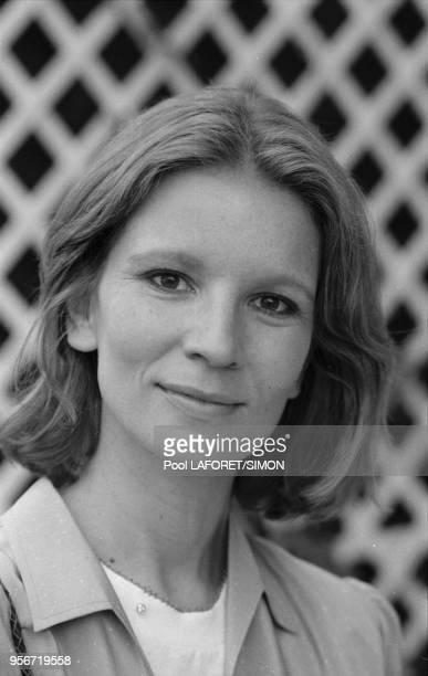 Nicole Garcia lors du Festival de Cannes en mai 1981 France