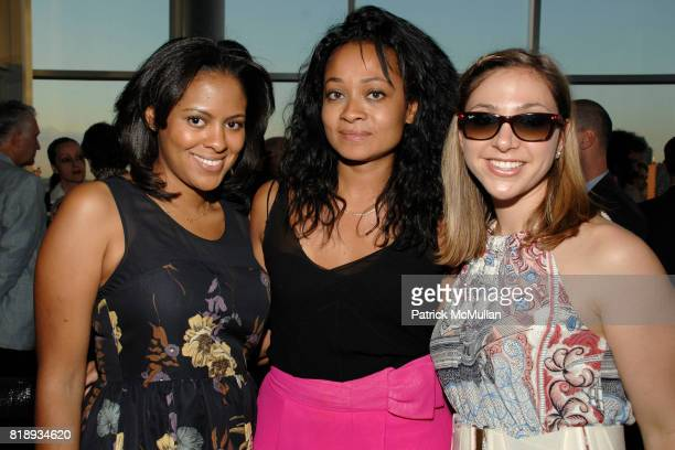 Nicole Gibbons Kelley Carter and Alix Lerman attend First Summer Soiree CELEBRATING 25 YEARS of DIFFA hosted by David Rockwell Whoopi Goldberg and...