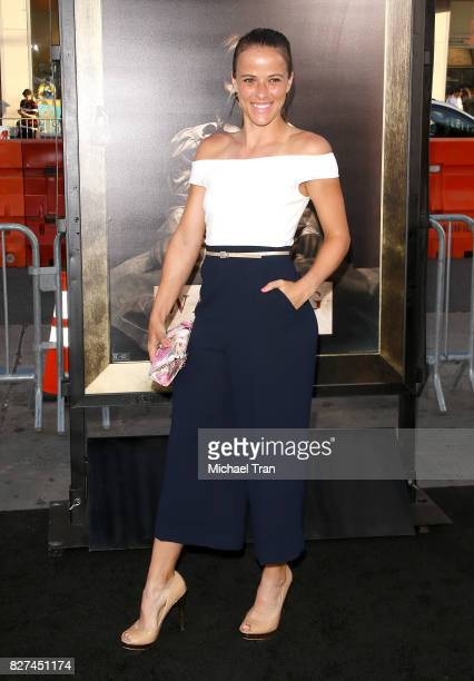 Nicole Gibbs arrives at the Los Angeles premiere of New Line Cinema's Annabelle Creation held at TCL Chinese Theatre on August 7 2017 in Hollywood...