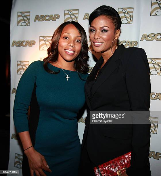 Nicole Goerge and DJ Beverly Bond attend the 4th annual ASCAP Women Behind the Music>> at Tenjune on October 16 2012 in New York City