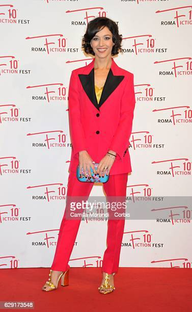 Nicole Grimaudo attends a red carpet for Immaturi during the Roma Fiction Fest on December 11 2016 in Rome Italy