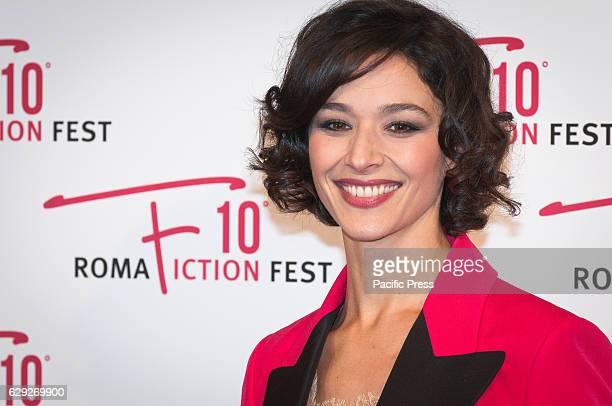 Nicole Grimaudo attends a red carpet for Immaturi La Serie during the Roma Fiction Fest 2016