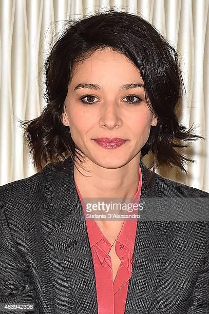 Nicole Grimaudo attends 'Le Leggi Del Desiderio' Photocall on February 20 2015 in Milan Italy