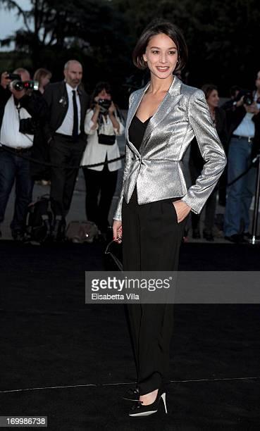 Nicole Grimaudo attends 'One Night Only' Roma hosted by Giorgio Armani at Palazzo Civilta Italiana on June 5 2013 in Rome Italy