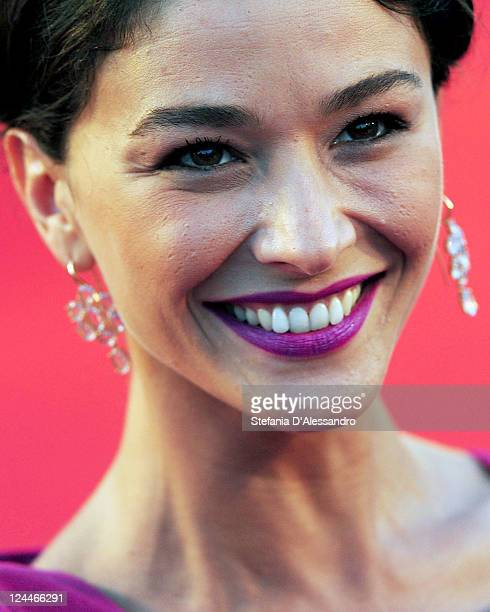 Nicole Grimaudo attends Texas Killing Fields Premiere at Palazzo del Cinema on September 9 2011 in Venice Italy