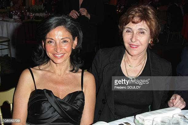 Nicole Guedj and Edith Cresson at the Pre Catelan in Paris France on May 06 2009