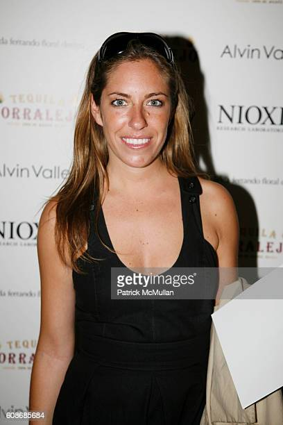 Nicole Hanley attends ALVIN VALLEY Resort Collection Show at The Bowery Hotel on June 13 2007 in New York City