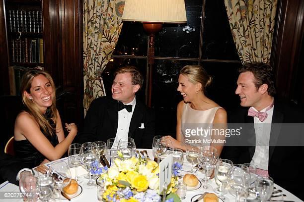 Nicole Hanley Harry LeFrak Genevieve Bahrenburg and Philip Gaucher attend CAROLINE ROWLEY Birthday Terez and Peter Rowley Anniversary Dinner and...