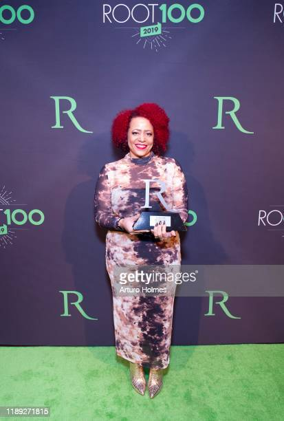 Nicole HannahJones attends 2019 ROOT 100 Gala at The Angel Orensanz Foundation on November 21 2019 in New York City