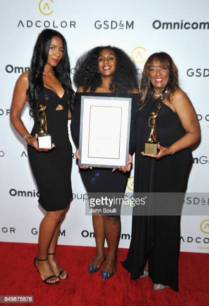 Nicole Haynes and Carol H. Williams attend the 11th Annual ADCOLOR Awards at Loews Hollywood Hotel on September 19, 2017 in Hollywood, California.