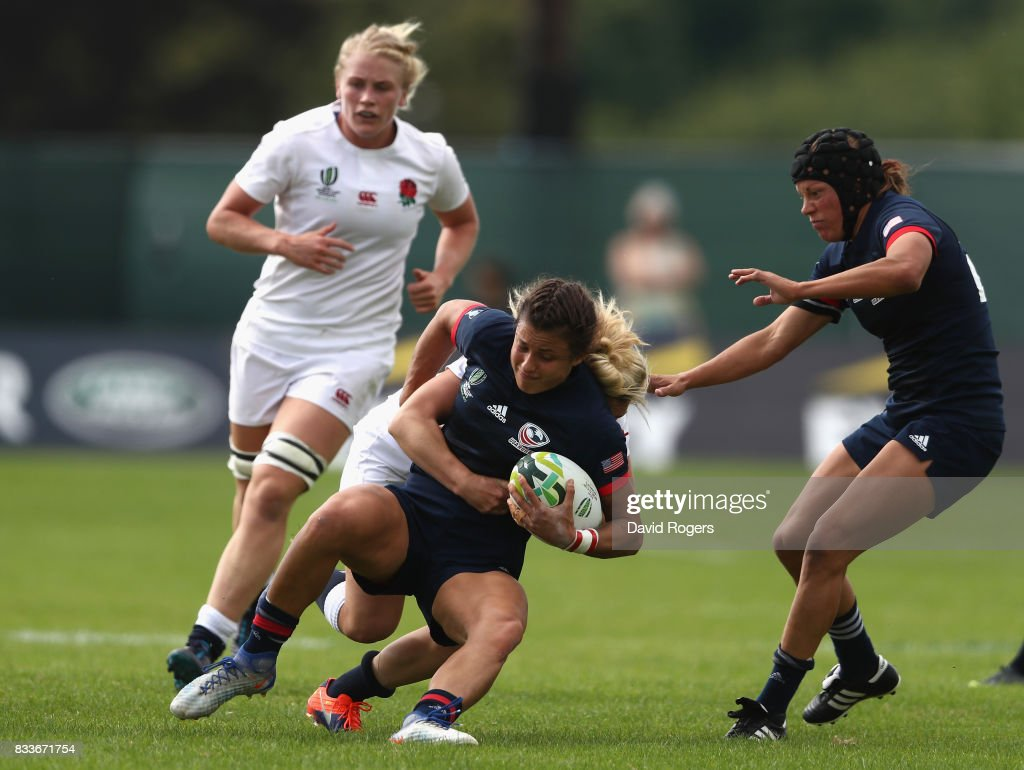 England v USA - Women's Rugby World Cup 2017