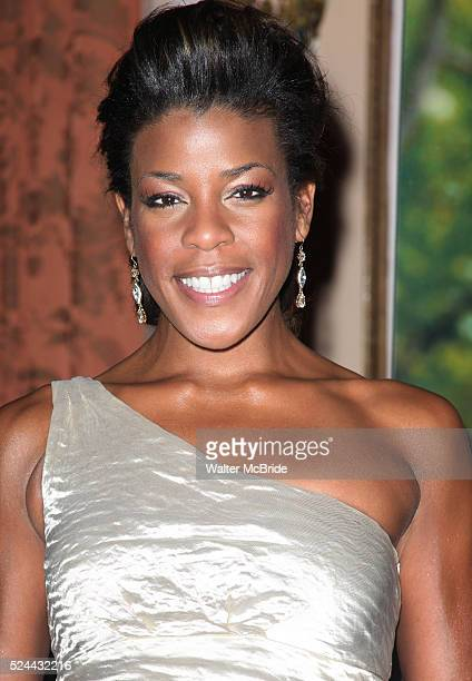 Nicole Henry attending the 2011 Friars Foundation Applause Award Gala in New York City