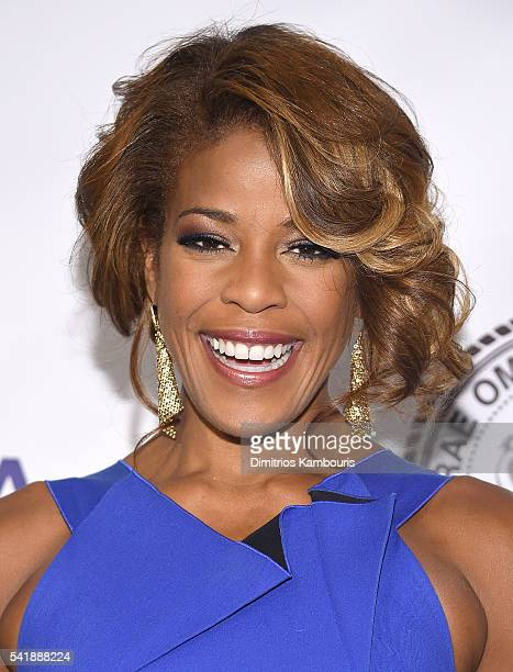 Nicole Henry attends as the Friars Club Honors Tony Bennett With The Entertainment Icon Award Arrivals at New York Sheraton Hotel Tower on June 20...
